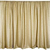 Efavormart 20ft x 10ft Champagne Spandex Party Wedding Backdrop Photography Background Photo Booth Backdrop Studio Background Review