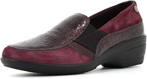 ENVAL SOFT Zapatos Mocasines para Mujer con cuña 4278133 Burdeos ...
