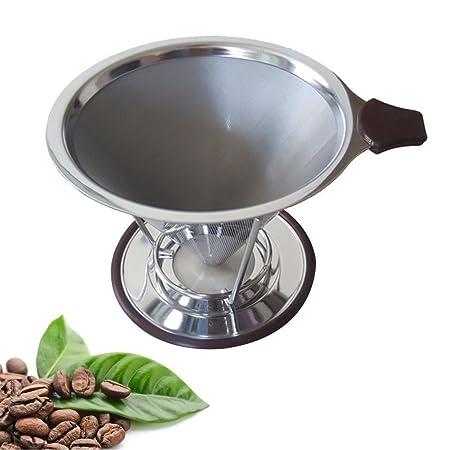 Filtro de café, hangrui Clever cono cafetera goteo sin papel ...