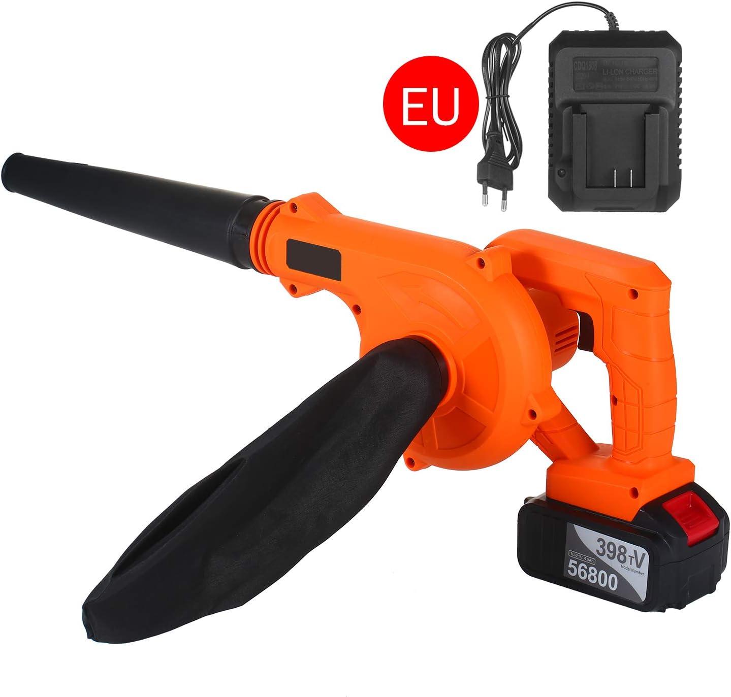 Kecheer Soplador de hojas bateria,Soplador aspirador de hojas electrico, Aspirador jardin bateria 21V 4.0 Ah para coche,jardin: Amazon.es: Bricolaje y herramientas
