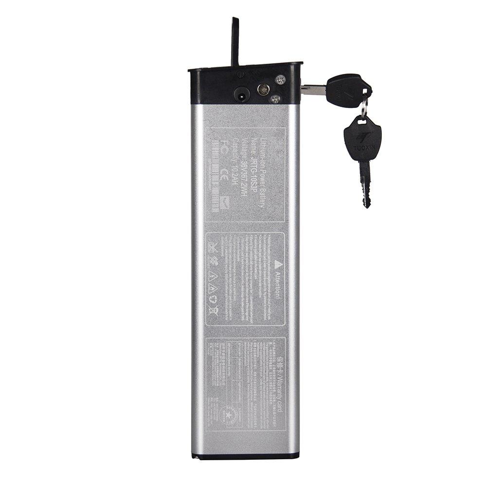 RICH BIT バッテリー 36V*10.2Ahリチウム電池 電動自転車専用 618専用   B0764XR5HP