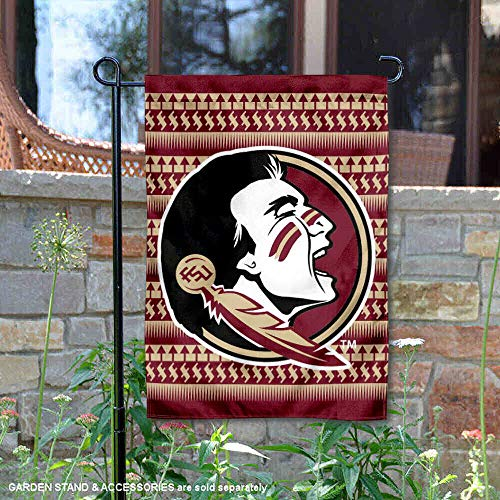 College Flags and Banners Co. Florida State University Seminoles Chevron Garden Flag