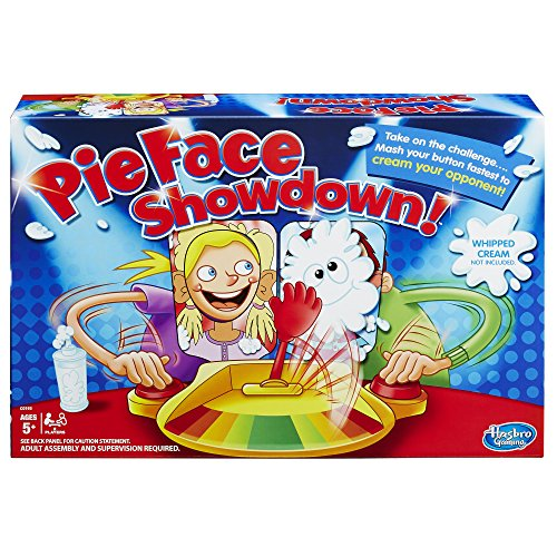 Pie Face Showdown Multi Player Game Challenge Board Splat Fa