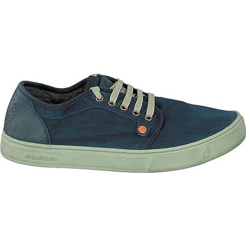 Satorisan 171001 Heisei Zapatillas de Deporte de Los Zapatos Azules de Prusia Hombre Cordones 46: Amazon.es: Zapatos y complementos