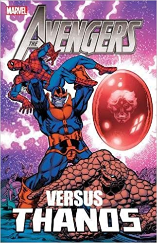 Amazoncom Avengers Vs Thanos 9780785168508 Jim Starlin Mike