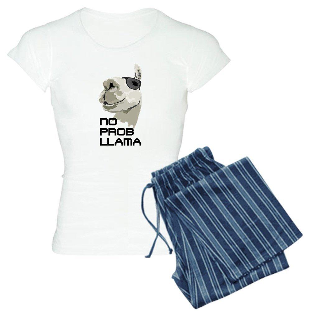 CafePress - No Prob Llama Pajamas - Womens Pajama Set