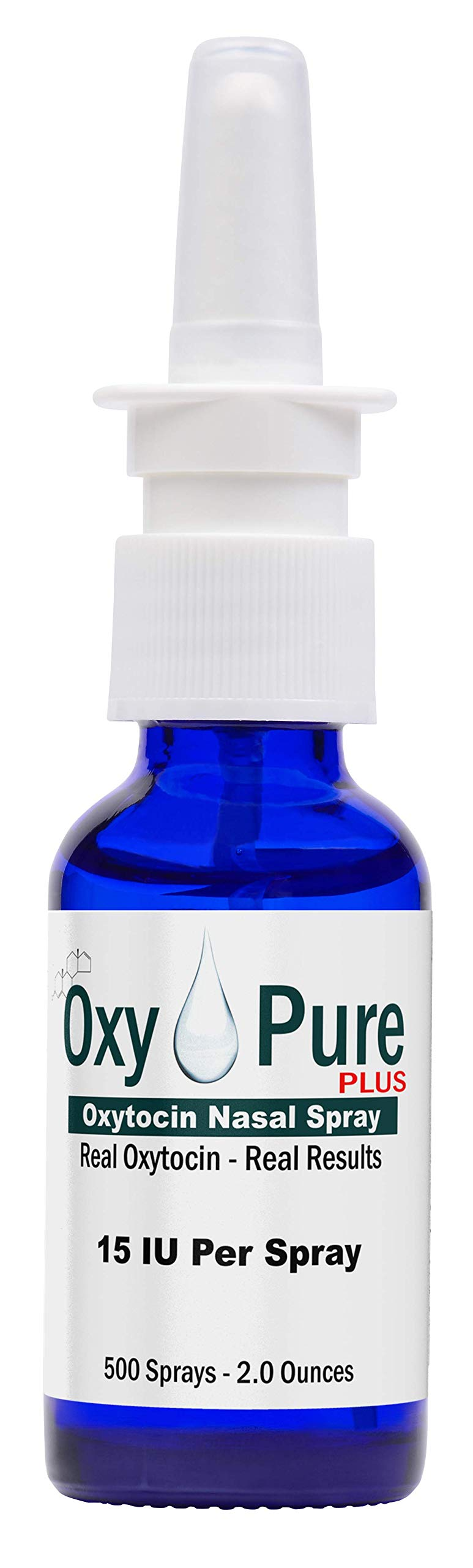 Oxytocin Nasal Spray Oxy Pure Real Oxytocin Real Results 60ml - 2.0 Ounce Professional Size by PherLuv
