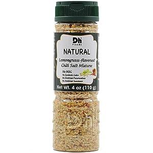 Dh Foods Chili Lemongrass Salt | Vietnamese seasoning salt | For fruits and vegetables | NO Synthetic Color - NO Artificial Preservative | 4 oz Net Wt.