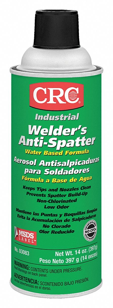 CRC Anti-Spatter, 16 Oz, Net Wt. 14 oz: Amazon.com: Industrial & Scientific