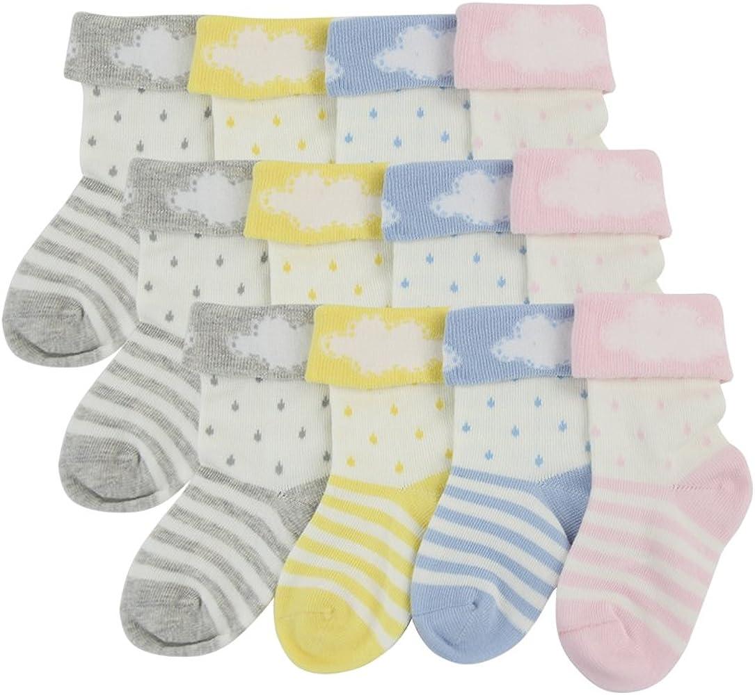Yuli recién nacido bebé niño Niña de grueso algodón suave diseño ...