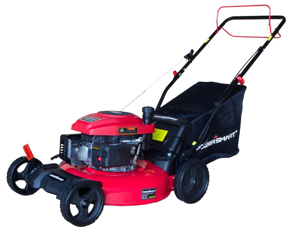 PowerSmart DB2194S 21'' 3-in-1 161cc Gas Self Propelled Lawn Mower by PowerSmart