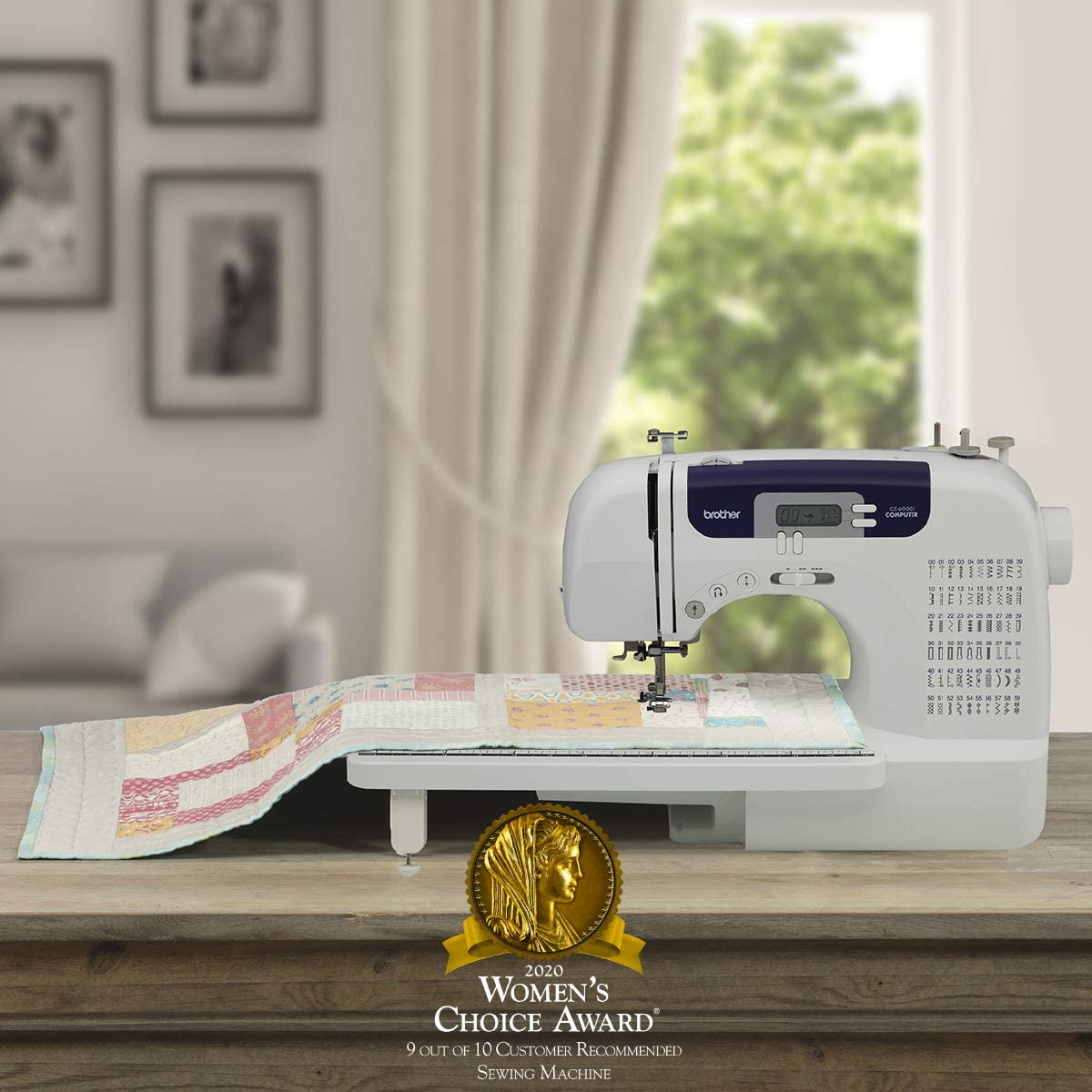 Brother CS6000i Sewing and Quilting Machine - LCD Display