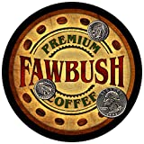 Fawbush Family Coffee Rubber Drink Coasters - Set of 4 offers