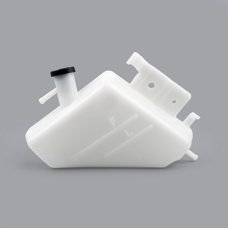 Areyourshop Radiator Coolant Overflow Tank Coolant Reservior for Suzuki GSXR1000 GSXR600