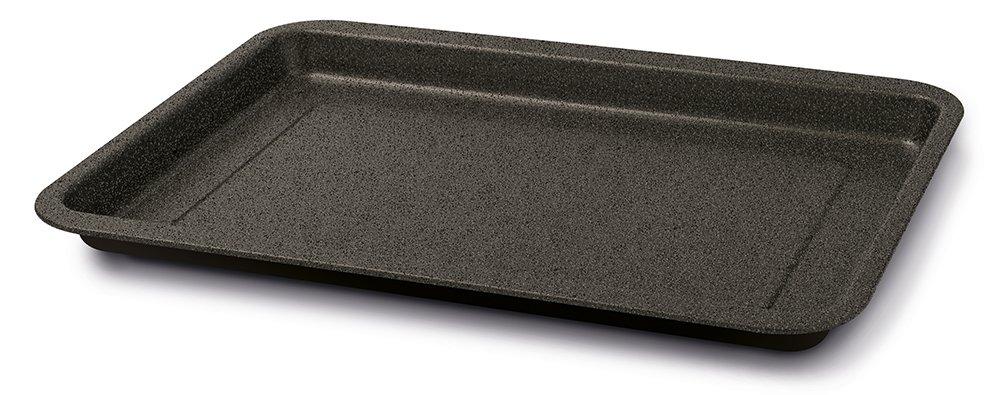 Colore Nero Guardini Teglia rettangolare 22x30cm Linea Gardenia Acciaio con rivestimento antiaderente