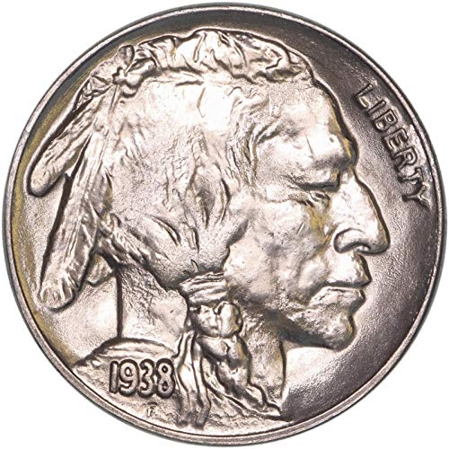1938 D Buffalo Nickel Gem Brilliant Uncirculated