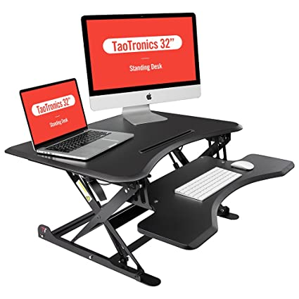 desk standing sit height adjustable anthrodesk amazon ideal of stand to beautiful