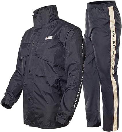 Outdoor Peak Manteau de Pluie pour Moto V/élo Combinaison Manteau de Pluie pour Pantalons et Veste de Pluie pour Homme et Femmes