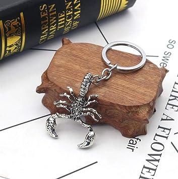 Scorpion Pendentif À Main Métal Clés Porte Visic En Sac thQrsd