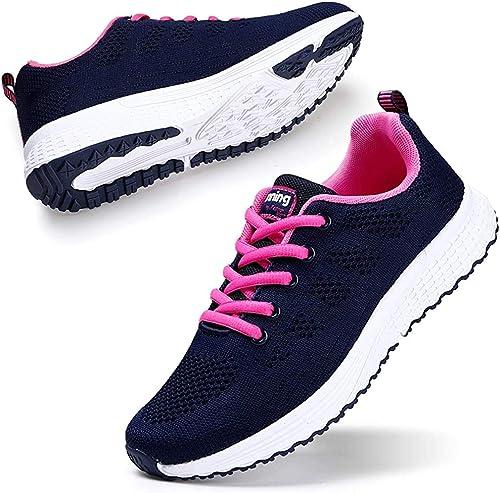 Damen Laufschuhe Sportschuhe Turnschuhe Leichtgewicht Sneaker Freizeit Schuhe