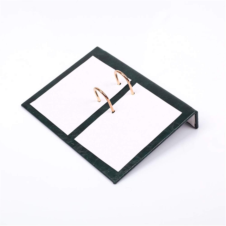 Lussodor Berro Elegante 9 parti Sottomano Scrivania Set da Alta Qualit/à Ecopelle con Targa Nominativa individuale 8 Selezione di Colore Colore:Orange