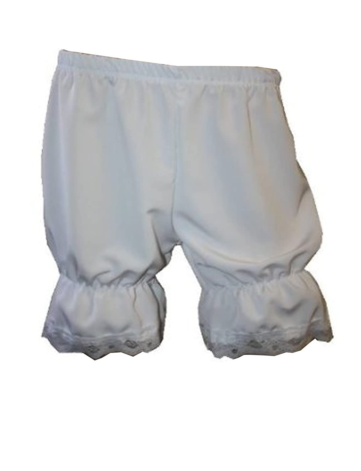 Women's Short Fancy Lace Trimmed English Bloomers - DeluxeAdultCostumes.com