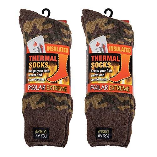 Polar Extreme Men S Thermal Sock Pack Of 2 Buy Online In