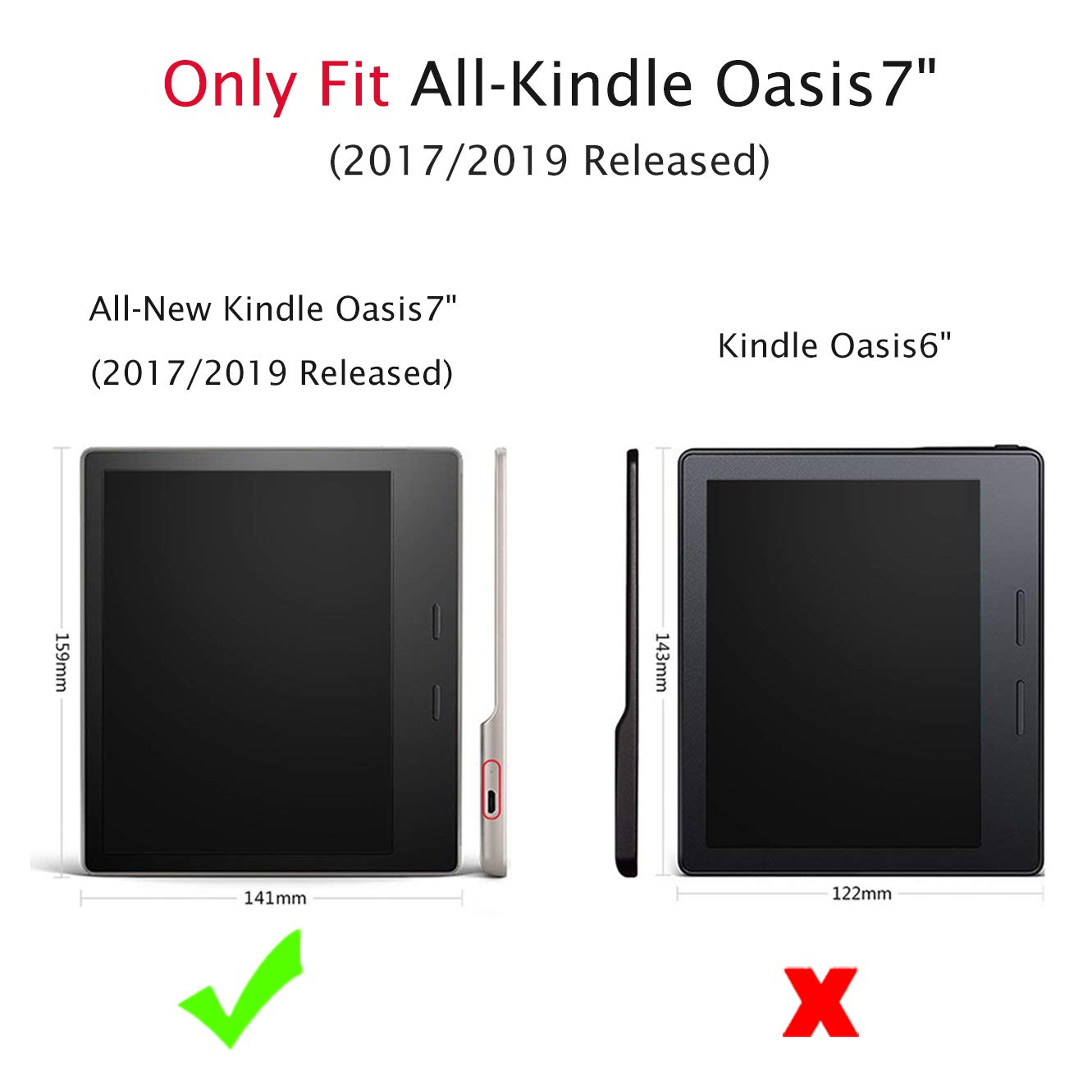 Huasiru Pintura Caso Funda para Kindle Oasis 2017/2019 (7 Pulgadas ...