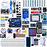 ELEGOO UNO R3 Project Complete Starter Kit with Tutorial for Arduino UNO (63 Items) V2