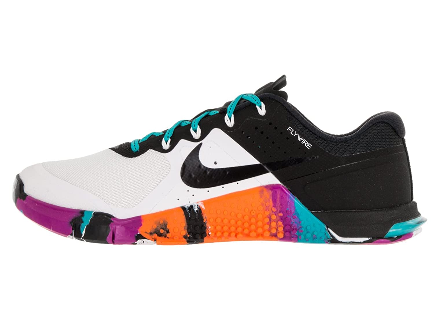 Amazon.com | Nike Women's Metcon 2 White/Black/Gamma Blue size 9.5 |  Fitness & Cross-Training