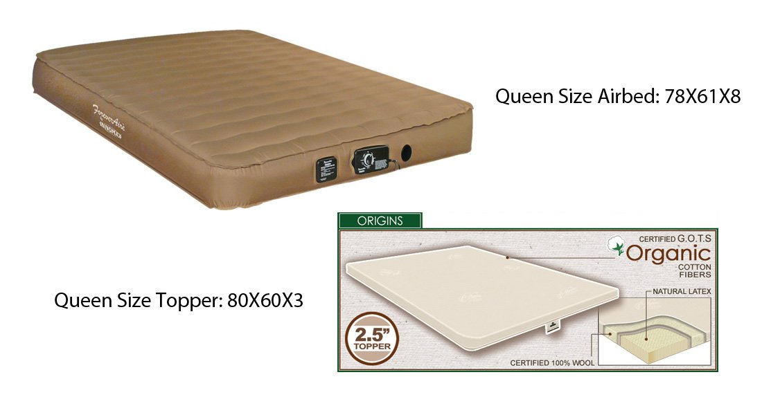 Amazon.com: INNOMAX Automatic Sleeper Sofa Queen Size Air Mattress