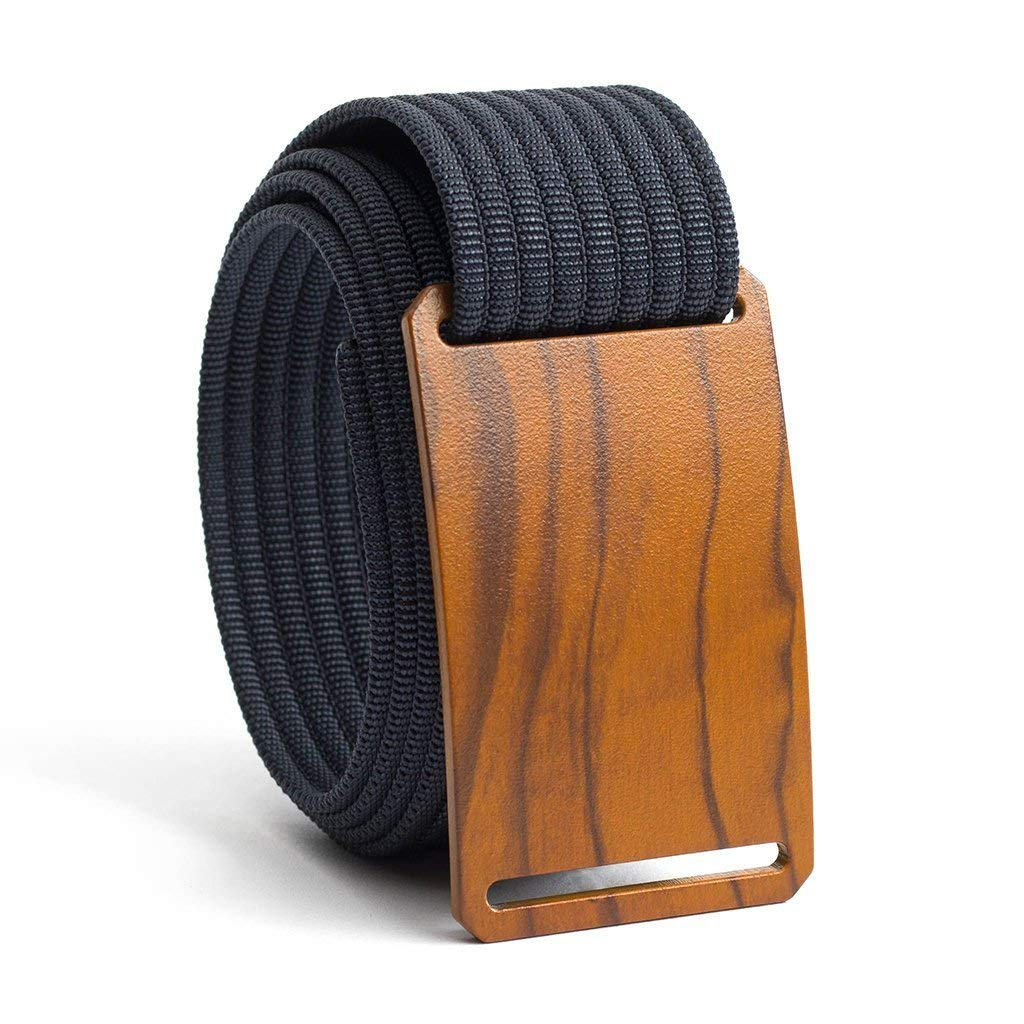 Men's Web Belt GRIP6 Craftsman (36in Olive w/Navy Strap)