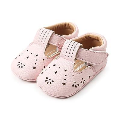 MK MATT KEELY Soft Rubber Sole Baby Trainers Toddler Anti-Slip First Walker Shoes for Baby Boy Baby Girl Prewalker