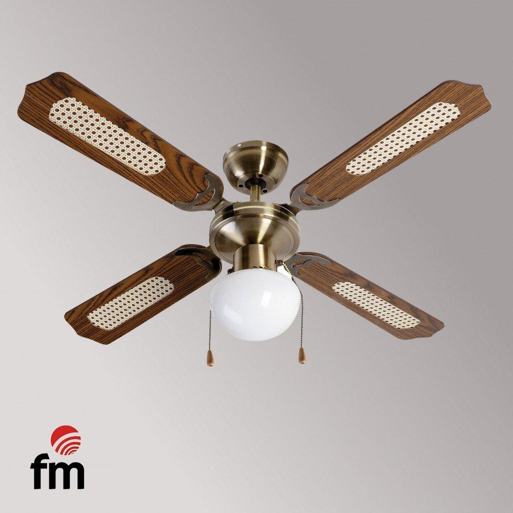 Ventilador Techo FM VTCLASSIC105 LowCos: Amazon.es: Grandes ...