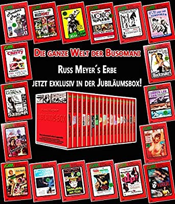 Russ Meyer Fsk 18 18 Dvds In Jubiläumsbox Amazonde Dvd Blu Ray