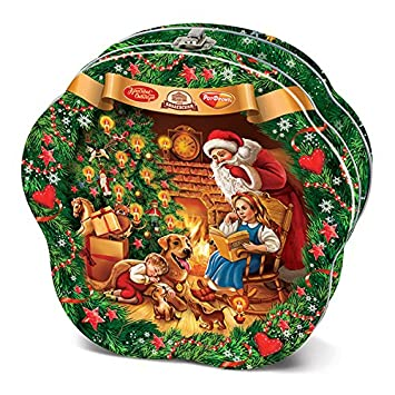 holiday christmas new year gourmet russian gourmet chocolate candy assortment gift 3527 oz