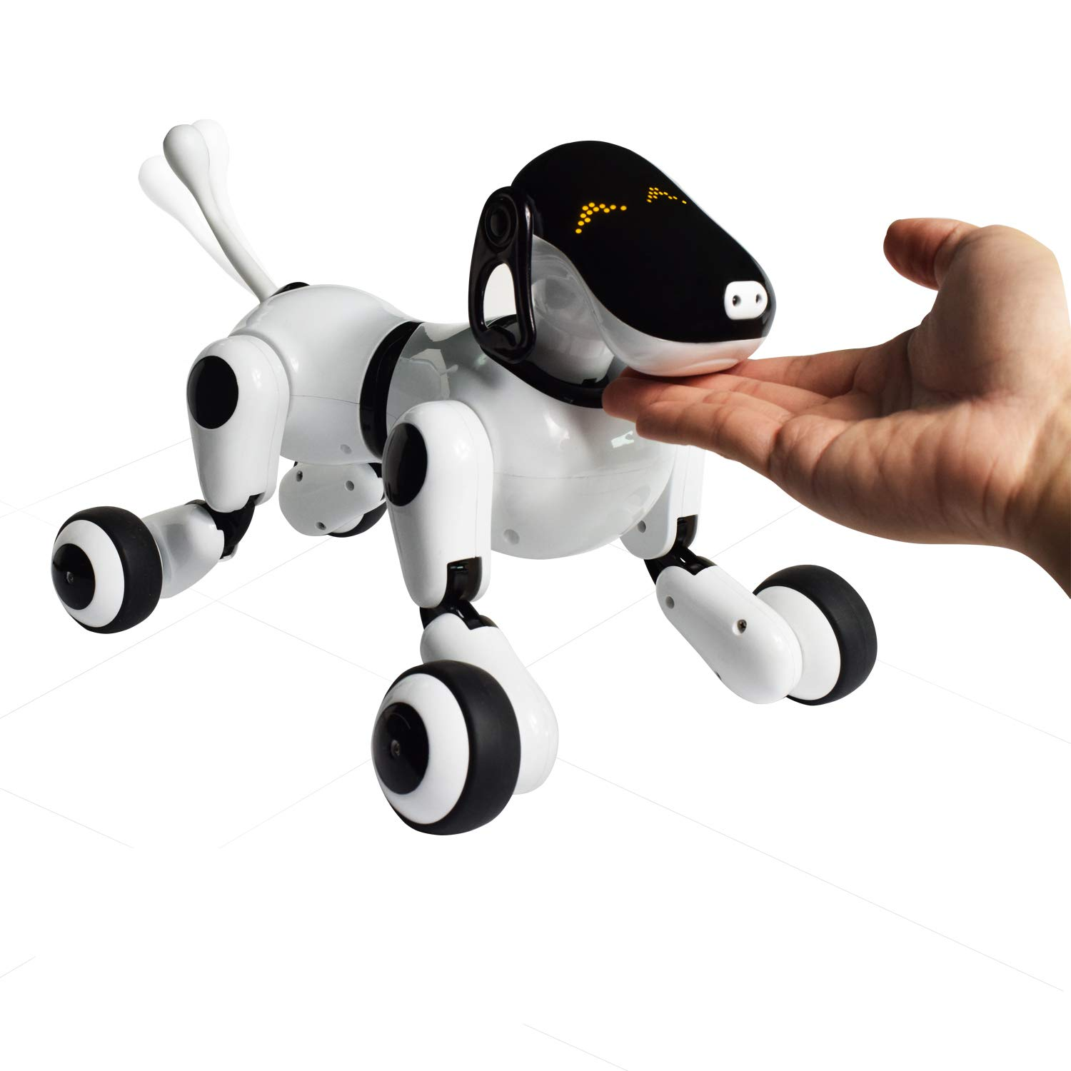 Contixo Independance Day Puppy Smart Interactive Robot Pet Toy for Kids, Voice, App, and Touch Controlled by Contixo (Image #6)
