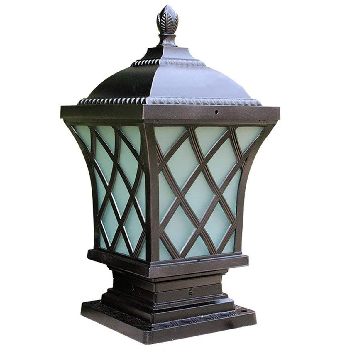 AFFC Mercato l'elegante Extra Large Solar cap luci o pilastro Solare, luci solari Illuminazione Esterna Paesaggio Illuminazione Giardino LED Luce Solare Post