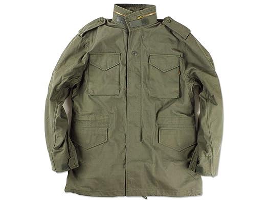 [アルファ インダストリーズ] ALPHA INDUSTRIES M-65 フィールドジャケット オリーブ M