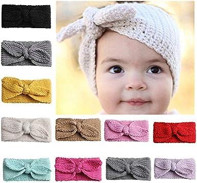Cute Kids Baby Toddler Girls Boys Knotted Turban Headband Headwear Accessories