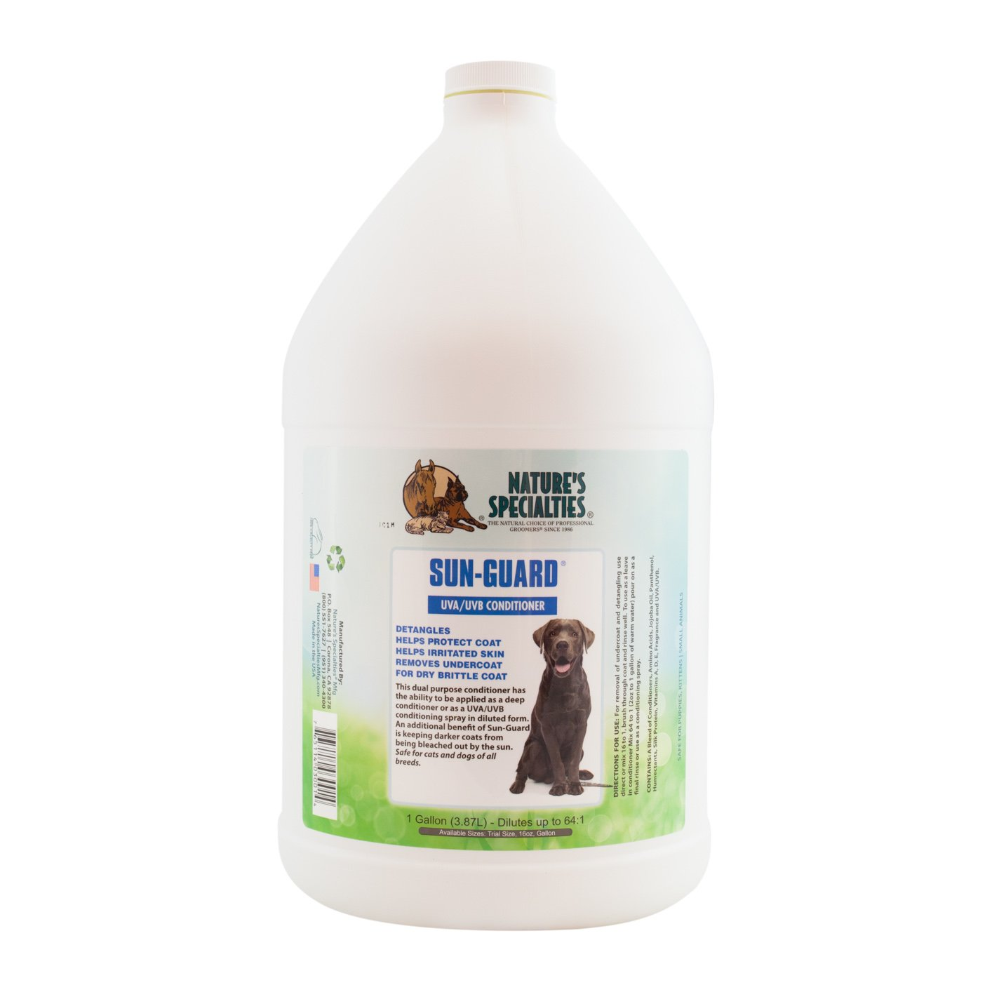 Nature's Specialties Sun Guard Leave in Pet Conditioner with UVA/UVB by Nature's Specialties Mfg