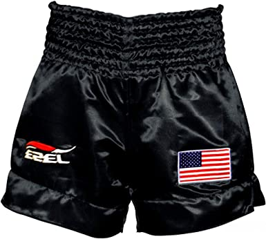 Mens MMA Boxing Trunks Kickboxing Fight Grappling Short Pants Muay Thai Shorts