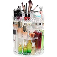 CARYWON Organizador de Maquillaje, Organizador de Inodoro Giratorio y Caja de Almacenamiento, Organizador de baño…