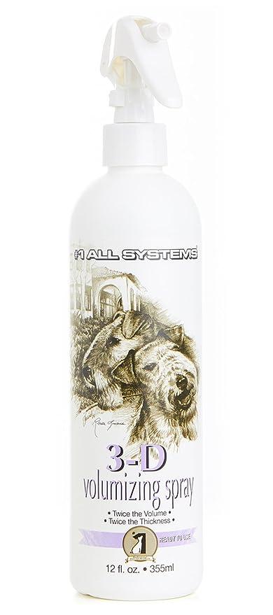 1 All Systems – Spray Volumen 3d Volumizing Spray para perros y gatos