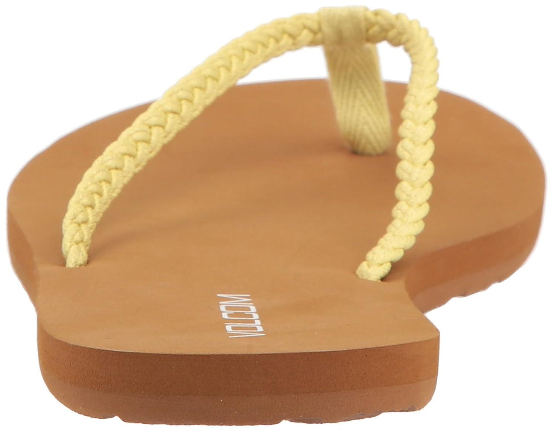 Volcom Damen Draw Lo Shoe Schwarz Sneaker Zehentrenner, Gelb (Citron), 41 EU
