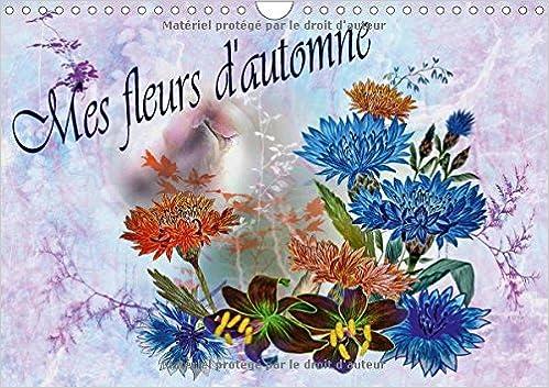 Mes Fleurs Dautomne 2017 Dessins Aux Crayons De Couleur