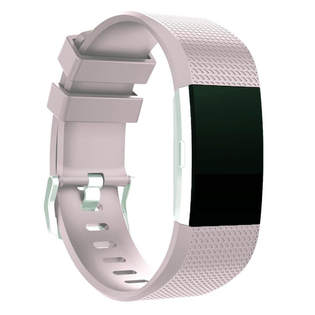 Fitbit Charge 2バンド、topcent交換用スポーツシリコンストラップバンドFitbit Charge 2 Smartwatch Fitnessリストバンド – 手首サイズ: 5.3 – 9インチ  PP 1 B075W8H3N5
