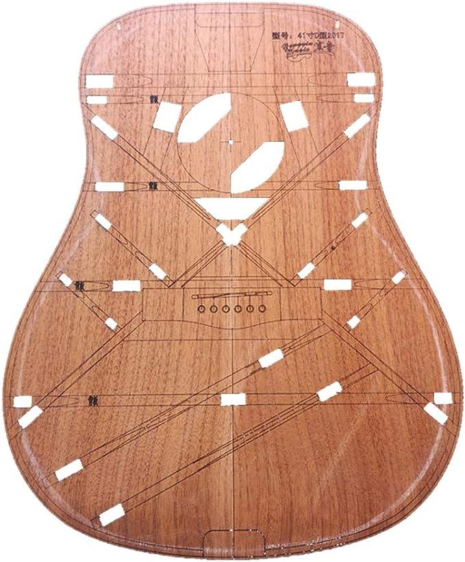 41 Pulgadas De Madera Tipo D Cuerpo Barril Plantilla Guitarra ...