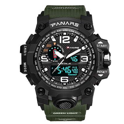 SW Watches PANARES Reloj Militar De Hombre Reloj De Pulsera De Cuarzo para Deportes Las Mejores