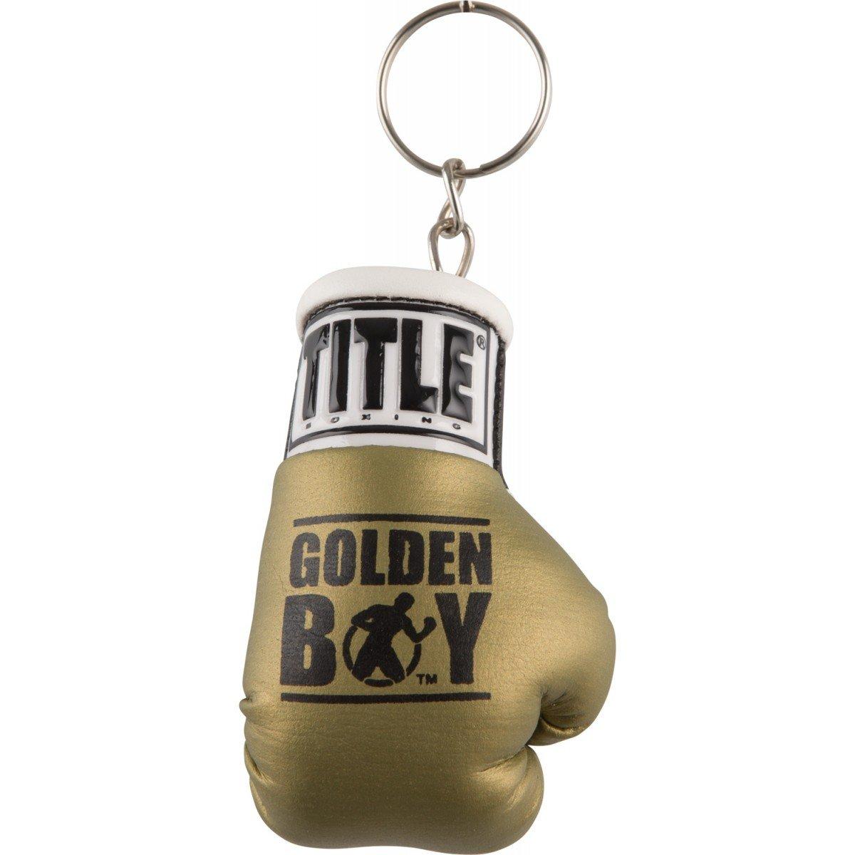 Amazon.com: dorado Boy guante de boxeo Llaveros, Negro ...